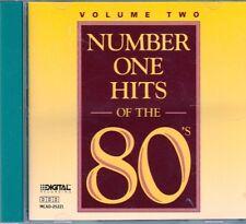 Number One Hits of 80s CD Classic Country STEVE WARINER REBA McENTIRE OAK RIDGE