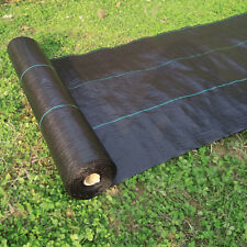 Weed Barrier 5x50ftLandscape Ground Cover Soil Erosion Control easy for planting