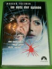 Im Netz der Spinne (VHS Kassette) Thriller | Morgan Freeman,...