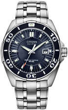 Citizen Signature BL1258-53L Men's Eco-Drive Perputual Calendar 43mm Watch