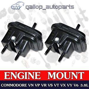 2 x Hydraulic Engine Mounts for HOLDEN Commodore VN VP VR VS VT VX VY 3.8L V6