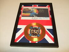 ELO   SIGNED  GOLD CD  DISC  5576689