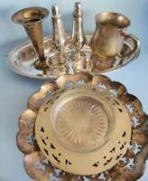 Mixed Lot of Decorative Silver Plated Items, Antique & Vintage EPNS, See Photos