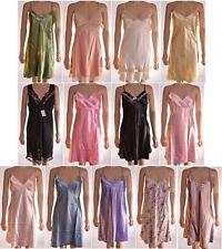 NEW Sexy Short Satin Chemise Slips Nighties Nightdresses Nighty Size 12 - L (A8)