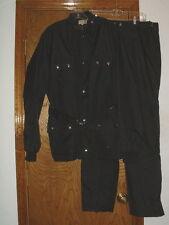Men's Le Mans Road Rain Gear Black Jacket & Pants XL