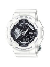Casio G-Shock * GMAS110CW-7A1 S-Series White Silver Women COD PayPal MOM17