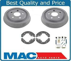 Fits For 95-05 Dodge Neon With 5 Stud Rear Brake Drum Drums & Shoes Hardware 4pc