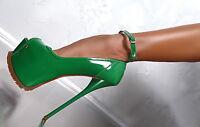 1969 HAND MADE IN ITALY SEXY SKY HIGH HEELS E54 DAMEN PUMPS SCHUHE ECHT LEDER 40