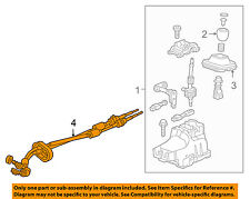 Chevrolet GM OEM Cruze Manual Transaxle-Shift Shifter Control Cable 25193527
