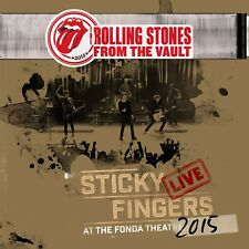 THE ROLLING STONES-FROM THE VAULT: STICKY FINGERS LIVE 2015  DVD+3 VINYL LP NEU