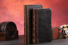 Retro Ancient Vintage Old Book Style Stand PU Leather Case for iPhone 6Plus