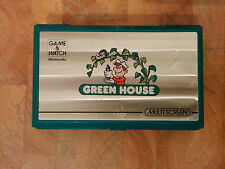 Nintendo Game and Watch ***GREEN HOUSE***  1982