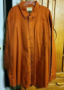 Size 3XL Lot of (4) colors Cabela's Outfitter's Series Long Sleeve Dress Shirts