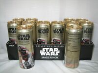 RARE UNOPENED #20 POE DAMERON STAR WARS FULL 12OZ SPACE PUNCH CAN LAST JEDI