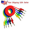 4mm Stackable Banana to Banana Plug Test Lead Set Copper Cable for Multimeter
