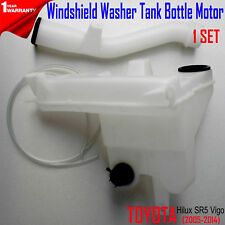 FOR Toyota Hilux Vigo 2005-2014 Windshield Washer Tank Bottle Motor New