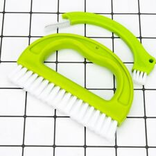 Tile Grout Brush Cleaner Cleaning Tool for Bathroom Kitchen Shower Sink 3 Colors