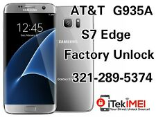 ☆REAL☆AT&T SIM UNLOCK GALAXY S7 Edge G935A FACTORY UNLOCK ☆DONE REMOTELY☆