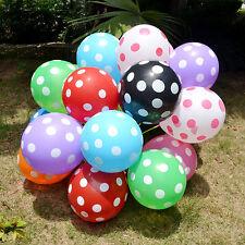 10-254x30.5cm ROSA palloncini A POIS GRANDE Festa Matrimonio Compleanno D