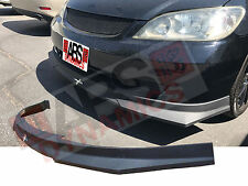 New 2004 05 Honda Civic CARBON PRINT Hc1 Style Front Bumper Lip PolyProplyene
