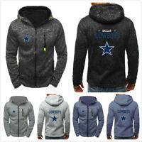 NFL Dallas Cowboys Football Hoodie Men's Sweatshirt Football Training Hooded Fan