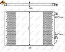 NRF (35956) Kondensator, Klimaanlage