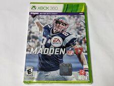 Madden NFL 17 for X-Box 360 System **BRAND NEW STILL SEALED!**
