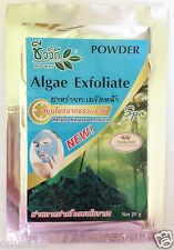 BIO-WAY Algae Exfoliate Seaweed Anti-Acne Aging Herbal Natural Facial Scrub 20g.