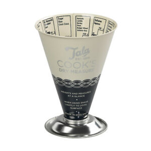 Tala Indigo Cooks Dry Measure Traditional ingredients Food Cooking Measuring Cup