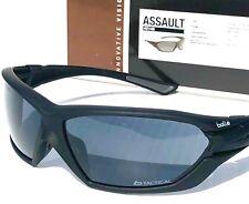 108eb96477 NEW  Bolle Tactical ASSAULT Matte Black w POLARIZED Gray Sunglass +U6LC  40146
