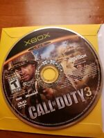 Call Of Duty 3 ORIGINAL (Microsoft Xbox) disc only