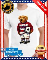 Vintage Polo Bear T-Shirt New POLO Bear Football Polo Bear Shirt Unisex M-3XL