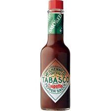 Tabasco Chipotle Pepper Sauce - 60ml Bottle - Boxed