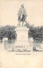 CPA SUISSE MONUMENT FAVRE A CHENE (dos non divisé)