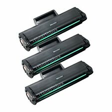 3x MLT-D101S MLTD101S Toner Cartridge For Samsung 101 SCX-3400 SCX-3405FW SF-760