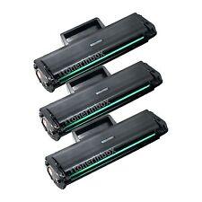 3x MLT-D101S MLTD101S Toner Cartridge For Samsung 101 SCX-3400 SCX-3405FW SF-760