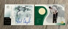 FRED COUPLES 2001 Boom Boom Upper Deck RC SP SOTT On Card Signed + Tour Threads