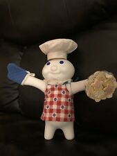 """Pillsbury Doughboy """"Baked To Perfection� 8.5� Porcelain Doll By Danbery Mint"""