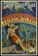 RAINBOW ISLAND 1944 Dorothy Lamour, Eddie Bracken region free DVD