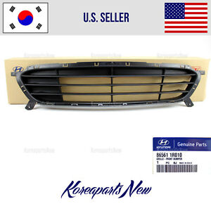 Grille Front Bumper Lower ⭐GENUINE⭐ 865611R010 fits Hyundai Accent 2012-2017