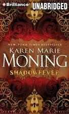 SHADOWFEVER unabridged audio book on CD by KAREN MARIE MONING  Brand New 20 hrs!
