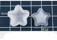 Silikonform Shakermold 42x42mm Mold Handwerk Resin Stern Abformen Gießen - 1279