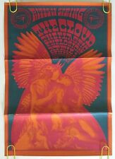 Neon Rose #11 Vintage Poster The Cloud Plastic Explosion Moscoso 1967 Original
