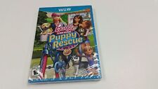 Barbie and Her Sisters Puppy Rescue (Nintendo Wii U) Brand New