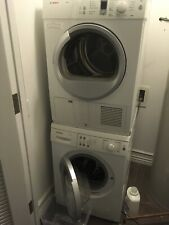 """Bosch 24"""" Stackable Washing Machine and Ventless Dryer 