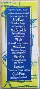 RARE   1994 Apple/Macintosh Software Sampler Book with  Floppy Disks