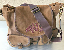 Borsa / Bag - Cesare Paciotti 4US - Fine Suede Leather - Marrone / Brown