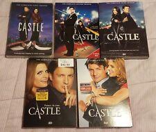 Castle seasons 1-5 complete DVD series