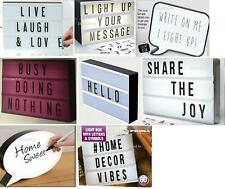 Light Message Led Display Box With Letters Symbols Word Wedding Party Cinematic