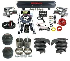 3 Preset Heights Complete Air Ride Suspension Kit GM 99-06 1500 Chrome 580